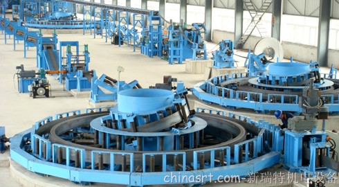 WLHT H Forming Steel Spiral Strip Accumulator