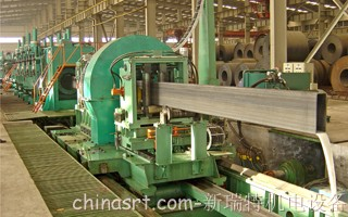 Flying contour milling Cutoff machine
